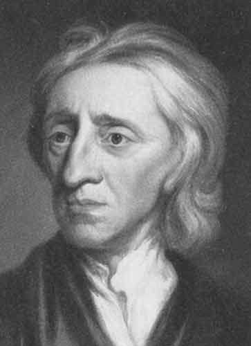 the theme of the formation of government in the works of hobbs and locke